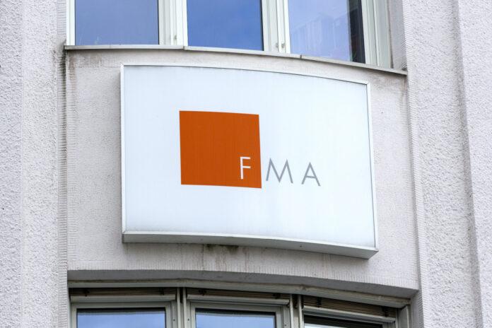 Schild der FMA in Wien
