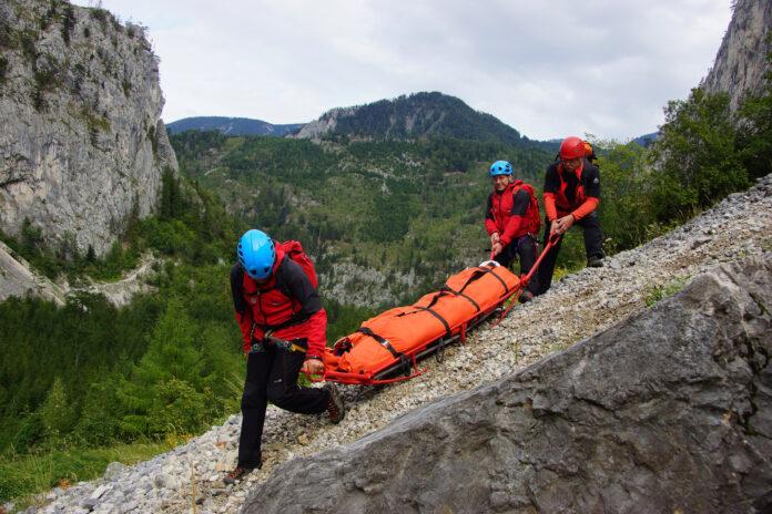 Die Bergrettung im Einsatz