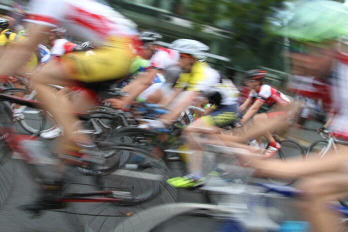 Symbolfoto eines Radmarathons