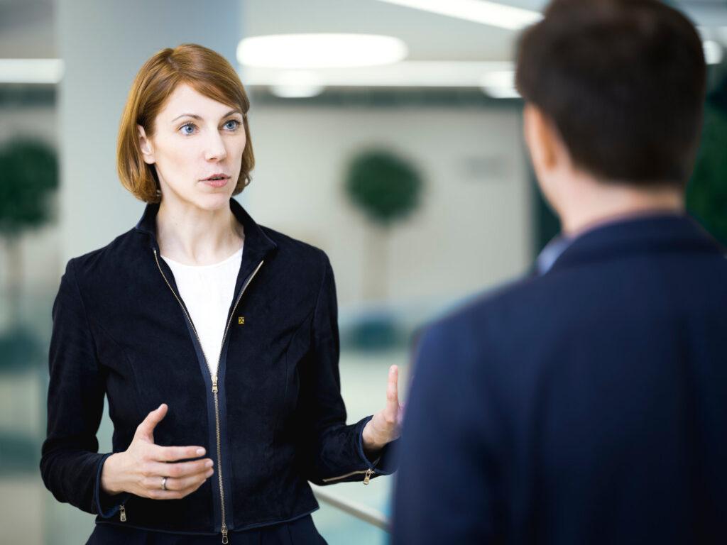 Ariane Pfleger im Gespräch