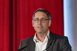 Dieter Aigner beim Banken-Symposium Wachau