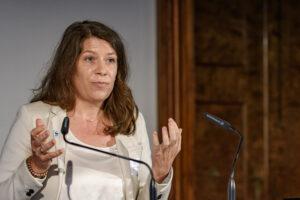 Erika Singer beim Banken-Symposium Wachau