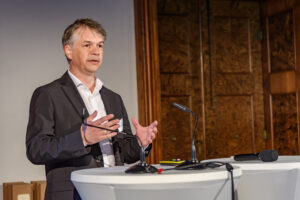 Mario Offenhuber beim Banken-Symposium Wachau