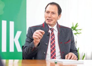 LKÖ-Präsident Josef Moosbrugger im Interview