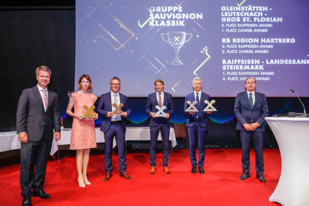 """Die Gewinner der Kategorie """"Sauvignon Klassik"""""""