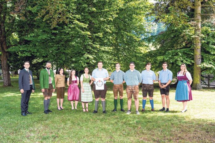 Vorstand und Aufsichtsrat der steirischen Schülergenossenschaft