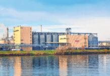 Außenansicht des Agrana-Werks in Pischelsdorf.