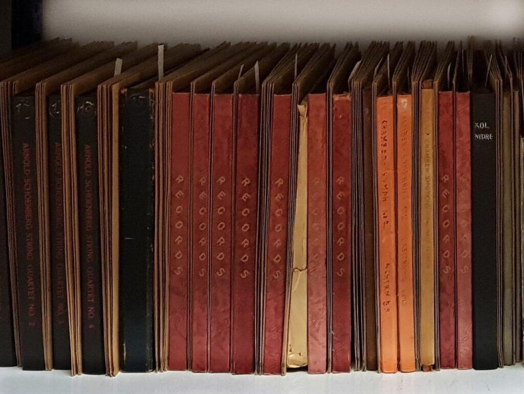 Die Sammlung Schönberg im Arnold Schönberg Center in Wien.