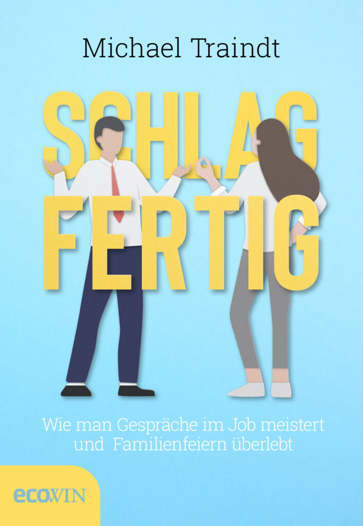 """Buchcover """"Schlagfertig"""" von Michael Traindt"""