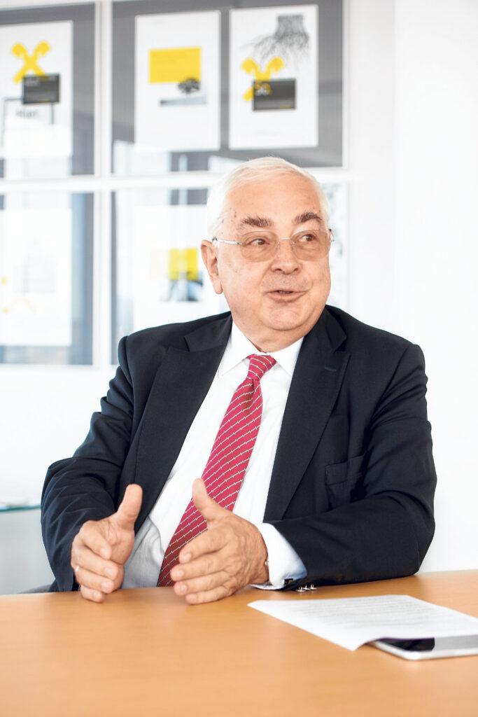 Walter Rothensteiner im Gespräch