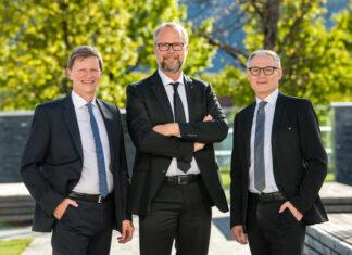 Wolfgang Hechenberger, Roger Klimek und Ludwig Strau
