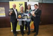 Eisenstadts Bürgermeister Thomas Steiner, Ingrid Puschautz-Meidl, Astrid Eisenkopf und Rudolf Könighofer stellten das Programm vor.